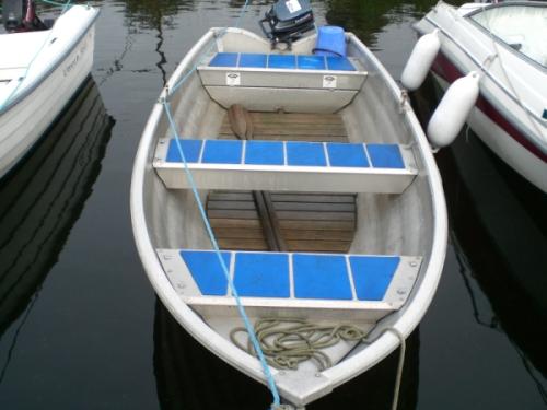 Aluminiumsbåt tilgjengelig i Begervann